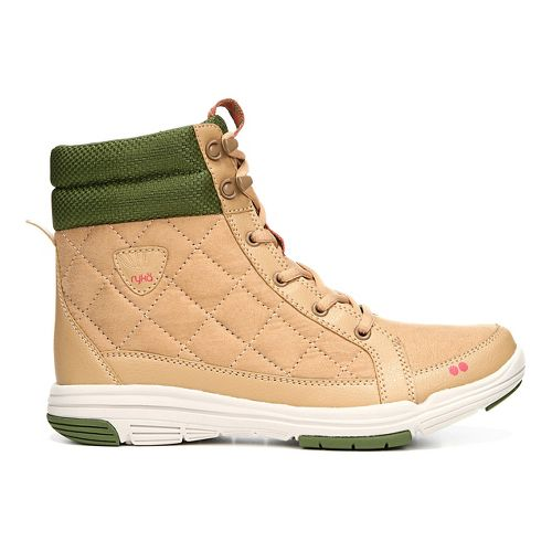 Womens Ryka Aurora Casual Shoe - Tan/Green 5