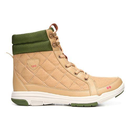 Womens Ryka Aurora Casual Shoe - Tan/Green 7.5