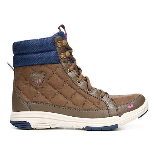 Womens Ryka Aurora Casual Shoe - Brown/Blue 9.5