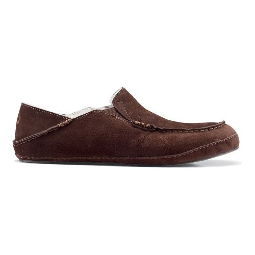 Mens OluKai Moloa Slipper Casual Shoe - Dark Java/Dark Java 7