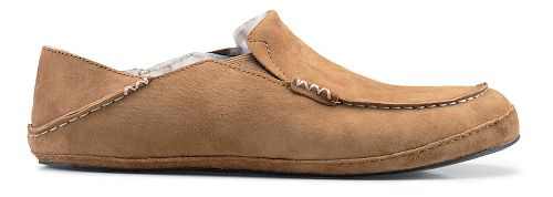 Mens OluKai Moloa Slipper Casual Shoe - Tobacco/Tobacco 10