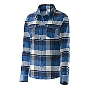 Womens Salomon Mystic Flannel Shirt Long Sleeve Non-Technical Tops