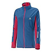Womens Salomon Equipe Softshell Warm Up Unhooded Jackets