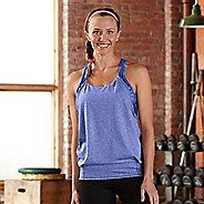 Womens R-Gear Earn It Bra Sleeveless & Tank Technical Tops - Heather Sapphire S