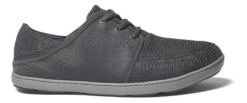 Mens OluKai Nohea Lace Mesh Casual Shoe - Dark Shadow 9