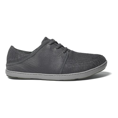 Mens OluKai Nohea Lace Mesh Casual Shoe - Dark Shadow 11.5