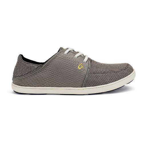 Mens OluKai Nohea Lace Mesh Casual Shoe - Rock 8