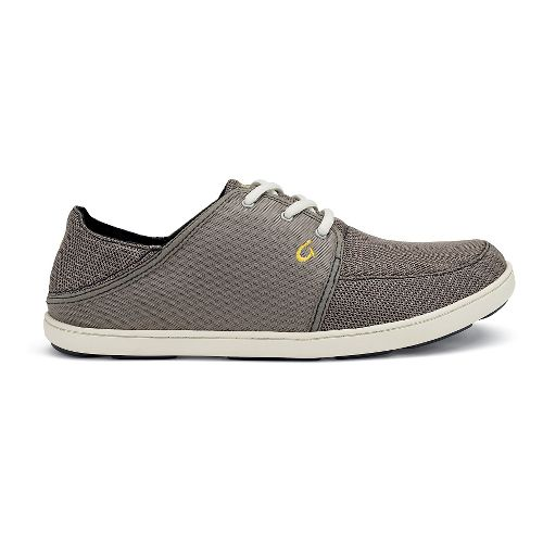 Mens OluKai Nohea Lace Mesh Casual Shoe - Rock 8.5