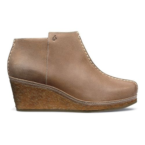 Womens OluKai Humu Casual Shoe - Khaki/Tapa 9