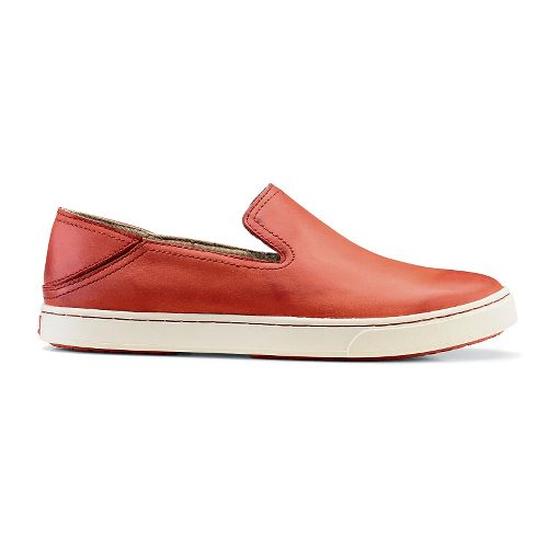 Womens OluKai Kailua Casual Shoe - Blood Orange 5
