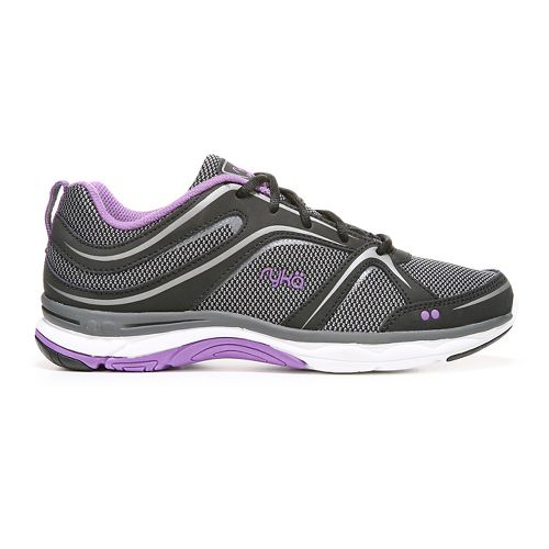 Womens Ryka Shift Walking Shoe - Black/Lilac 6