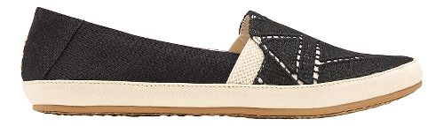 Womens Reef Shaded Summer TX Casual Shoe - Black/White 8