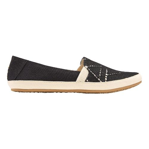 Womens Reef Shaded Summer TX Casual Shoe - Black/White 10