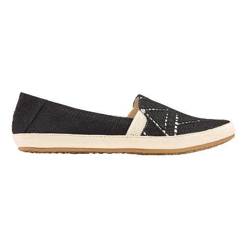 Womens Reef Shaded Summer TX Casual Shoe - Black/White 8.5