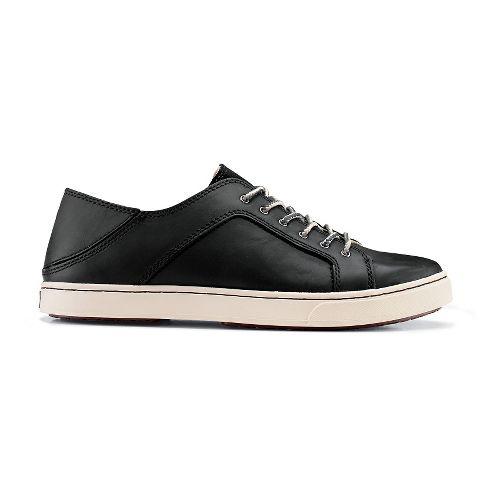 Womens OluKai Oneo Casual Shoe - Black/Black 5