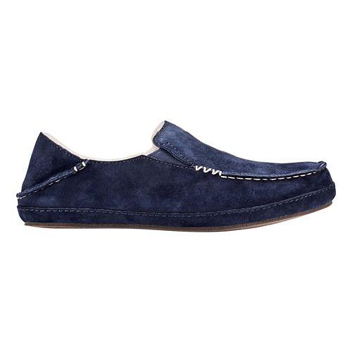Womens OluKai Nohea Slipper Casual Shoe - Trench Blue/Blue 10