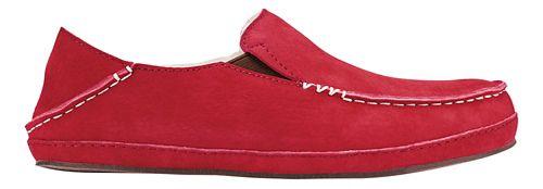 Womens OluKai Nohea Slipper Casual Shoe - Red Mud/Red Mud 8