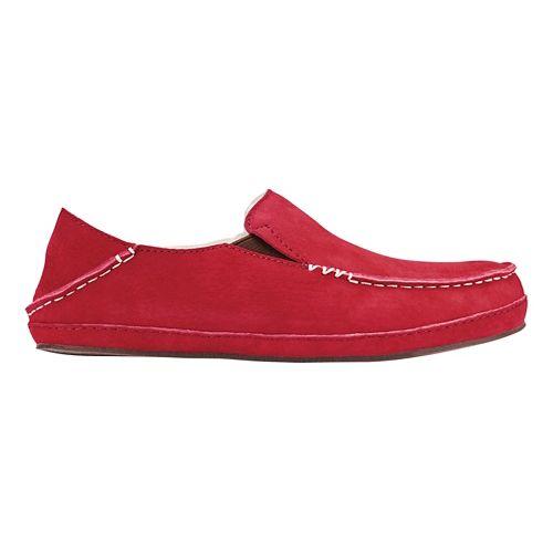 Womens OluKai Nohea Slipper Casual Shoe - Red Mud/Red Mud 6