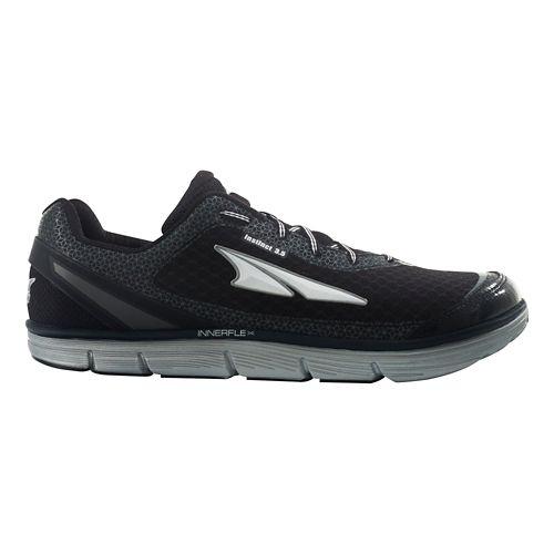 Mens Altra Instinct 3.5 Running Shoe - Black/Silver 11.5