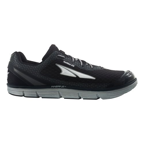 Mens Altra Instinct 3.5 Running Shoe - Black/Silver 9