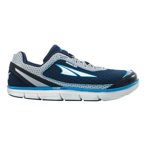 Mens Altra Instinct 3.5 Running Shoe - Blue/Silver 8