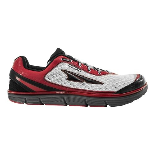 Mens Altra Instinct 3.5 Running Shoe - Racing Red/White 12.5
