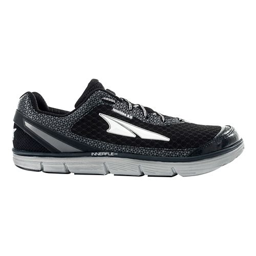 Womens Altra Intuition 3.5 Running Shoe - Black/Silver 7