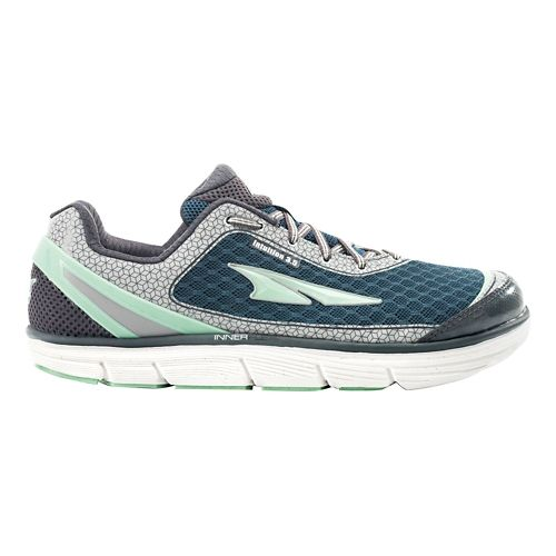 Womens Altra Intuition 3.5 Running Shoe - Hemlock/Pewter 9