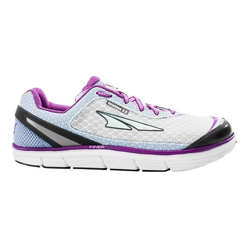 Womens Altra Intuition 3.5 Running Shoe - Orchid/Silver 7.5
