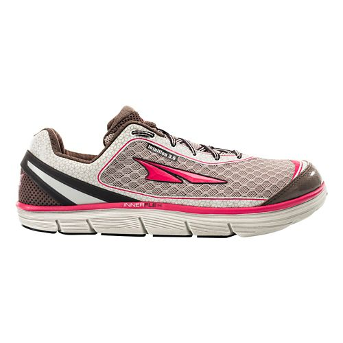 Womens Altra Intuition 3.5 Running Shoe - Shitake/Sugar Coral 9