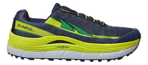 Mens Altra Olympus 2.0 Trail Running Shoe - Navy/Lime 9.5