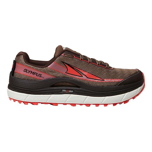 Womens Altra Olympus 2.0 Trail Running Shoe - Shiitake 12