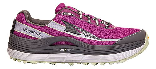Womens Altra Olympus 2.0 Trail Running Shoe - Orchid/Grey 10