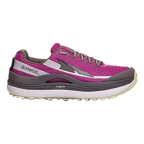 Womens Altra Olympus 2.0 Trail Running Shoe - Orchid/Grey 7.5