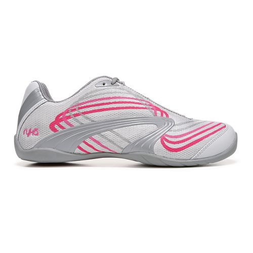 Womens Ryka Studio D Cross Training Shoe - Grey/Pink 9.5