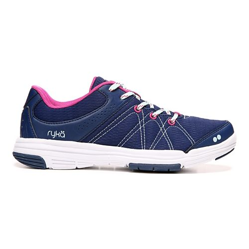Womens Ryka Summit Casual Shoe - Navy/Pink 10.5