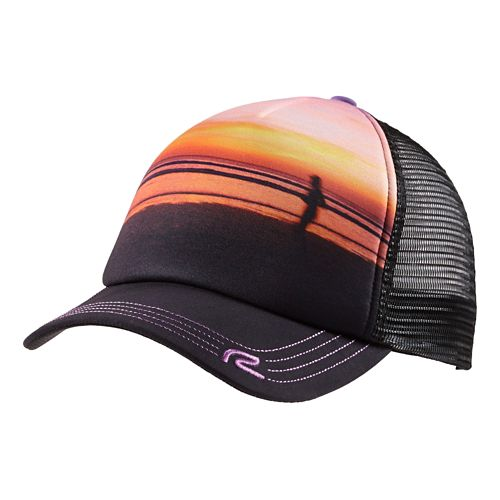 Womens R-Gear Beach Day Performance Trucker Headwear - Sunset
