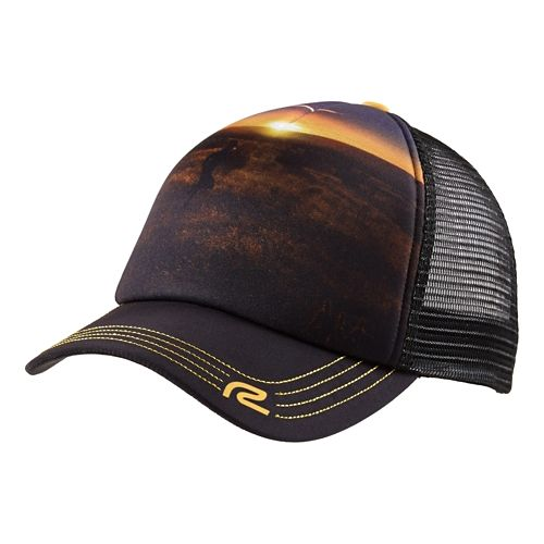 Mens R-Gear Sun Daze Performance Trucker Headwear - Desert