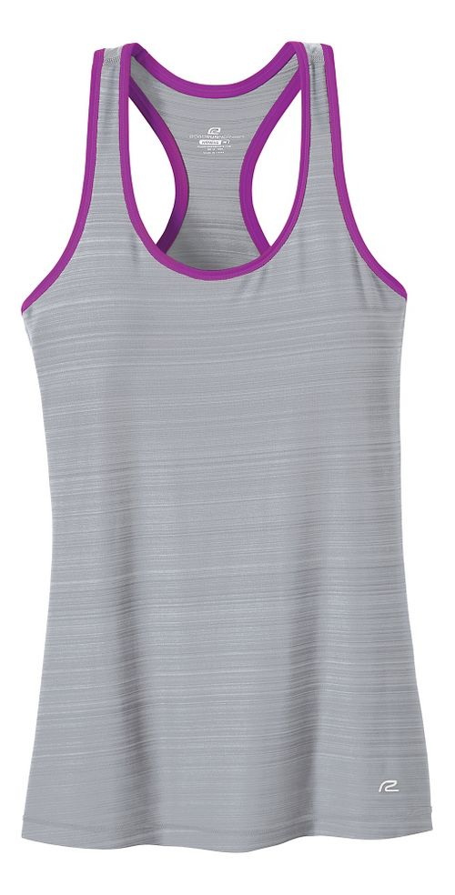 Womens R-Gear Finish First Racerback Sleeveless & Tank Tops Technical Tops - Dove Grey L ...