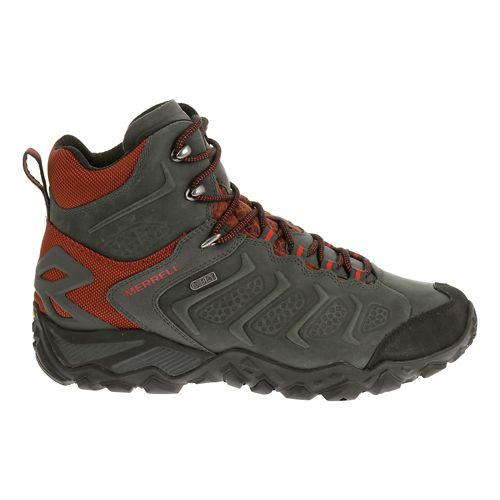 Mens Merrell Chameleon Shift Mid Waterproof Hiking Shoe - Granite 14