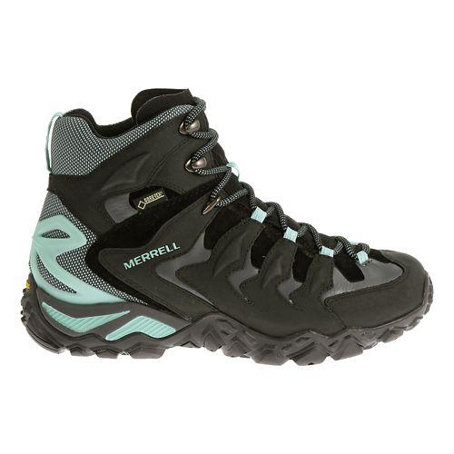 Womens Merrell Chameleon Shift Mid Waterproof Hiking Shoe - Black/Adventurine 11