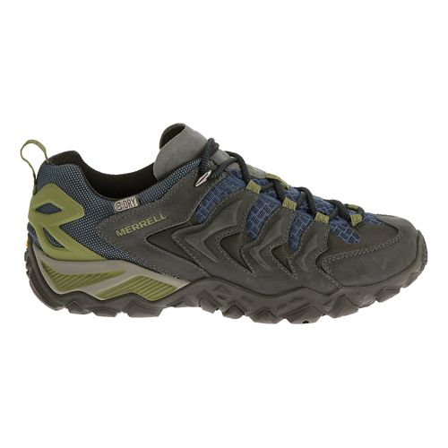 Mens Merrell Chameleon Shift Ventilator Waterproof Hiking Shoe - Castle Rock/Blue 15