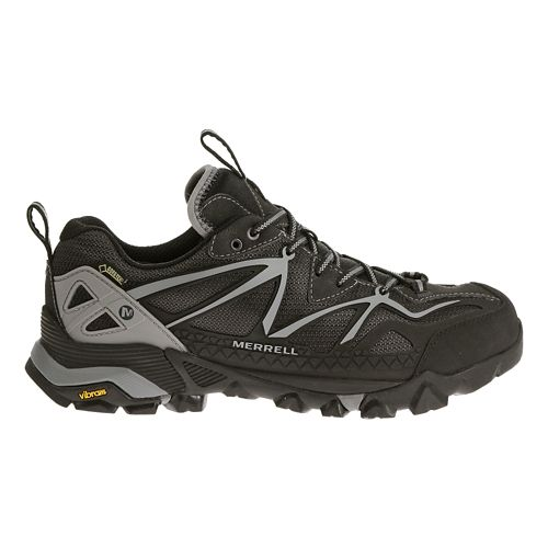 Mens Merrell Capra Sport GORE-TEX Hiking Shoe - Black/Wild Dove 10