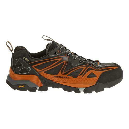 Mens Merrell Capra Sport GORE-TEX Hiking Shoe - Orange 11.5