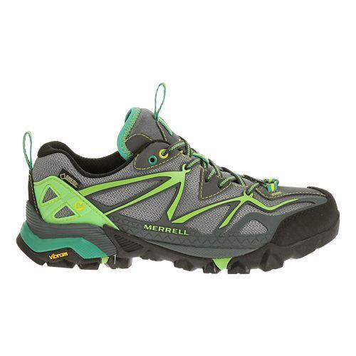 Womens Merrell Capra Sport GORE-TEX Hiking Shoe - Grey/Wild Dove 11