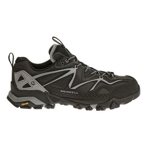Mens Merrell Capra Sport Hiking Shoe - Black/Wild Dove 11.5
