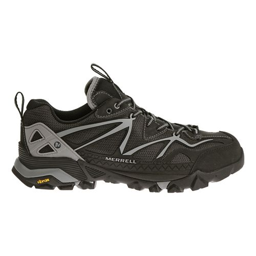 Mens Merrell Capra Sport Hiking Shoe - Black/Wild Dove 9