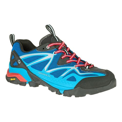 Mens Merrell Capra Sport Hiking Shoe - Blue 9
