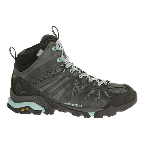 Womens Merrell Capra Mid Waterproof Hiking Shoe - Granite 8
