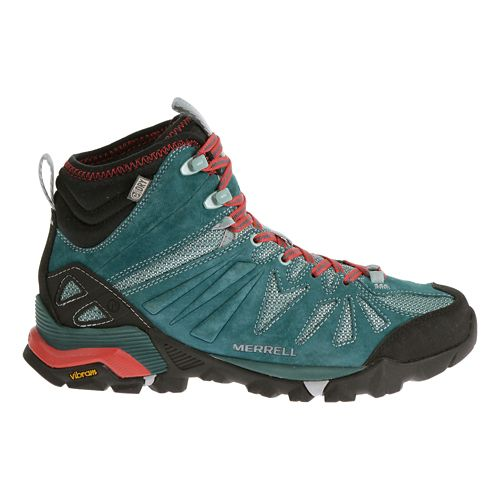 Womens Merrell Capra Mid Waterproof Hiking Shoe - Dragonfly 8.5